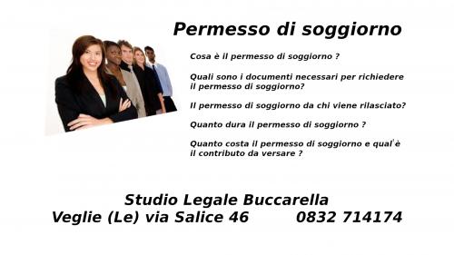 Il permesso di soggiorno - Studio Legale Buccarella